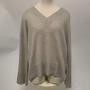 Autumn Cashmere Boxy V-Neck Sweater